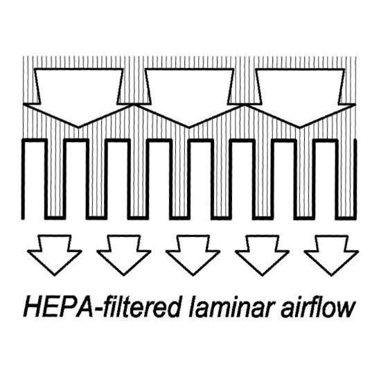 absoluteair class 100 series horizontal laminar flow