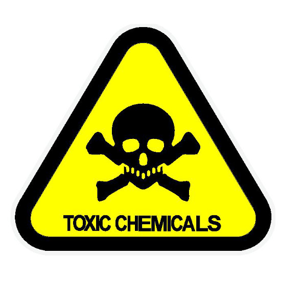 Toxic Chemicals Label